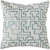 """Eastern Accents Central Park Fretwork Pillow, 22""""Sq."""