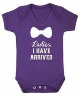 FLOSO Baby Girls/Boys Ladies I Have Arrived Short Sleeve Bodysuit (12-18 Months)