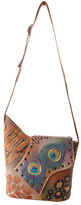Anuschka Women's Medium Asymmetric Flap Bag