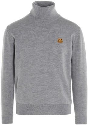 Kenzo Tiger Crest Rollneck Sweater