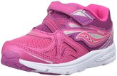 Saucony Girls Baby Ride (Inf/Tod) - Pink/Berry - 8.5 Toddler