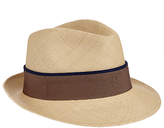 Christys' Hoxton Trilby Panama Hat, Natural