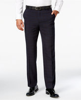 Sean John Men's Classic-Fit Blue Plaid Tuxedo Pants