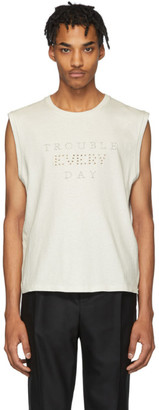 Saint Laurent Off-White Trouble Every Day T-Shirt