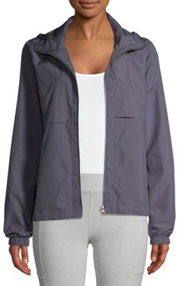 Athletic Works Women's Active Commuter Jacket with Hood