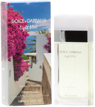 Dolce & Gabbana Women's 3.3Oz Light Blue Escape To Panarea Eau De Toilette Spray