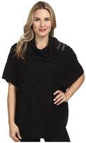 Calvin Klein Cable Sweater Cape