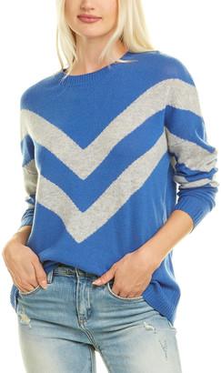 Kier & J Stripe Cashmere Sweater