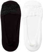 Shimera Lace Cap Toe Liner - Pack of 2