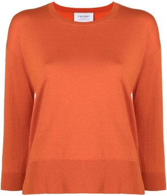 Snobby Sheep Crew-Neck Knitted Jumper