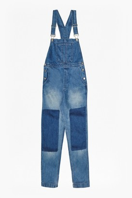French Connection Blue Shadow Dungarees
