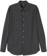 Mango Slim-fit Windowpane Check Shirt