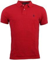 Polo Ralph Lauren Mens Custom Fit Mesh Polo Shirt - M
