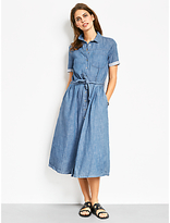 Hush Nicole Chambray Dress, Blue