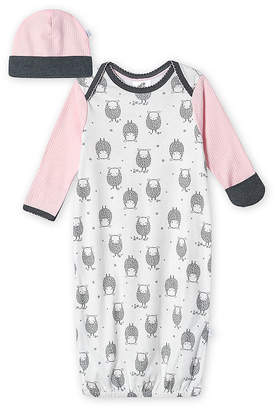 Just Born With Baby Hat 2-pc. Girls Nightgown