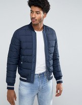 Mango Man Puffer Jacket In Navy