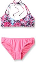 Roxy Big Girls Altered Destination Bandeau Set