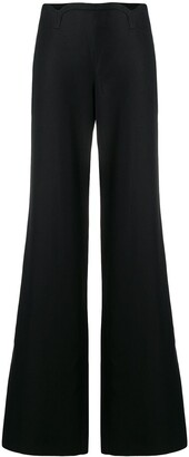 Versace Pre-Owned Flared Trousers