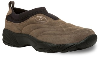 Propet Wash N Wear Men's Suede Walking Shoes