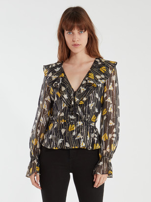 Joie Karmel Silk Crossover Top