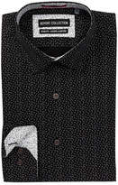 Report Collection Geo Dot Slim Fit Dress Shirt