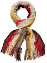 Missoni Women's Fringed Long Scarf