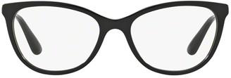 Dolce & Gabbana Eyewear Cat Eye Frame Glasses