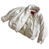 Moncler White Polyester Jacket