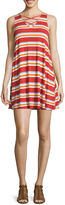 Arizona Sleeveless Casual Knit Dress - Juniors