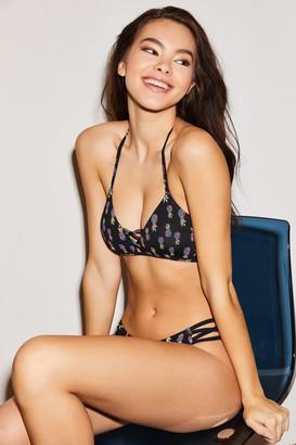 Ardene Pineapple Caged Cheeky Bikini Bottoms