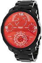 Diesel Machinus DZ7362 Men's Round Black Stainless Steel Watch