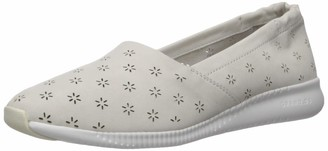Cole Haan Women's Studiogrand Perforated Slip ON Sneaker Loafer Chalk Nubuck 5 B US