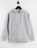 Thumbnail for your product : New Look hoodie in charcoal