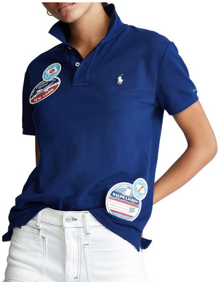 Polo Ralph Lauren Classic Fit Patch Polo Shirt
