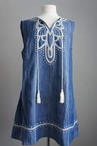 Umgee USA Denim Sleeveless Tunic