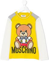 Moschino Kids printed teddy sweatshirt