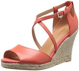 Nine West Women's Naci Leather Wedge Pump