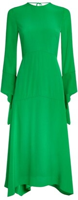Victoria Beckham Handkerchief-Hem Dress