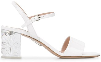 Miu Miu block heel sandals