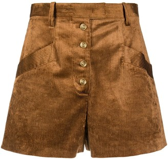 Pinko Corduroy Tailored Shorts