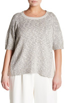 Lafayette 148 New York Bateau Knit Sweater (Plus Size)
