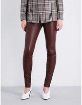 Theory Adbelle skinny leather leggings