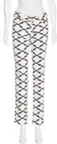 Etoile Isabel Marant Printed Straight-Leg Jeans