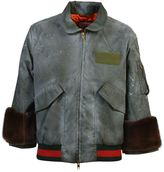 Gucci Hand Painted Trouble Andrew Bomber