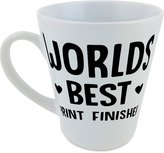 Fotomax World's best Print Finisher cone shaped mug