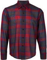 Facetasm plaid shirt - men - Nylon/Wool - 3