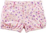 Osh Kosh Floral Bubble Shorts
