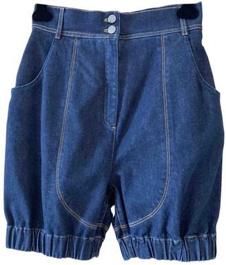 Fendi Blue Denim - Jeans Shorts for Women