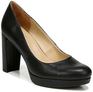 Naturalizer Berlin Block Heel Pump - Wide Width Available