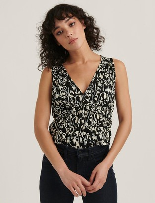 Lucky Brand Sleeveless Peplum Top